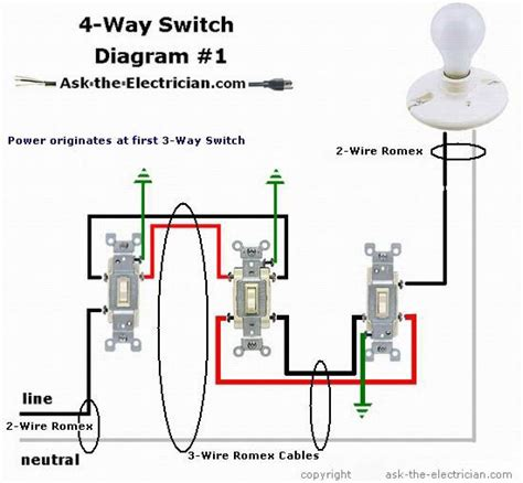 automotive three way switch wiring diagram image