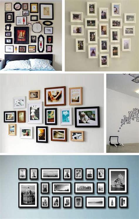 Ideen Für Fotos An Der Wand by Bilderrahmen An Der Wand Gerpart1 Fotowand