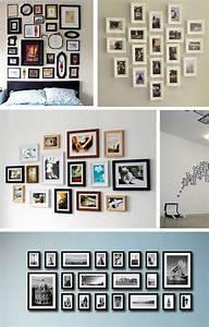 Wand Mit Fotos Dekorieren : bilderrahmen an der wand gerpart1 fotowand pinterest bilderrahmen w nde und fotowand ~ Markanthonyermac.com Haus und Dekorationen