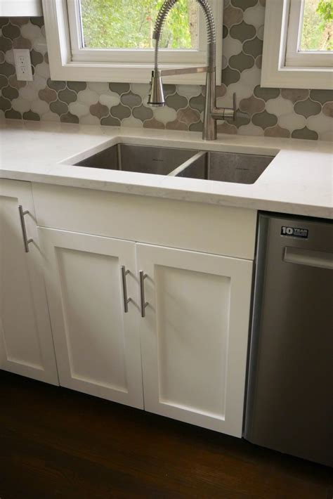 diy kitchen sink cabinet 27in sink base cabinet carcass frameless 187 rogue engineer 6860