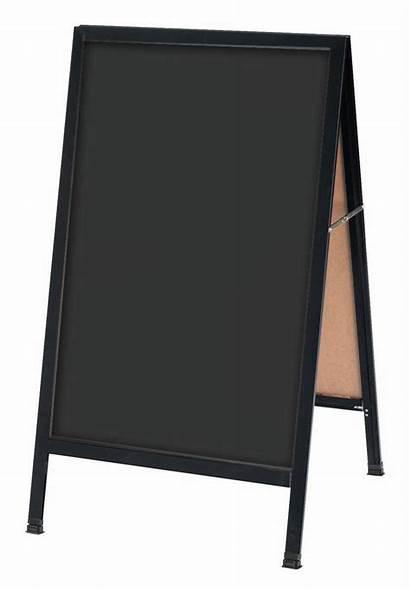Frame Chalkboard Erase Sandwich Board Dry Sign