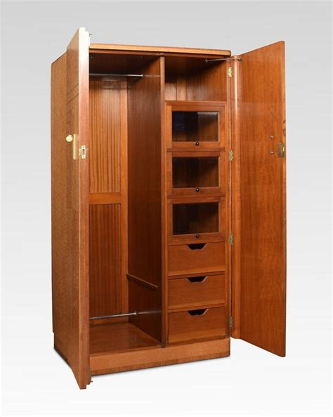 pair of deco two door wardrobes for sale at 1stdibs