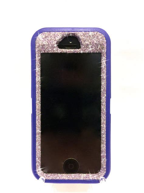 5s cases etsy iphone 5 5s otterbox glitter from naughtywoman