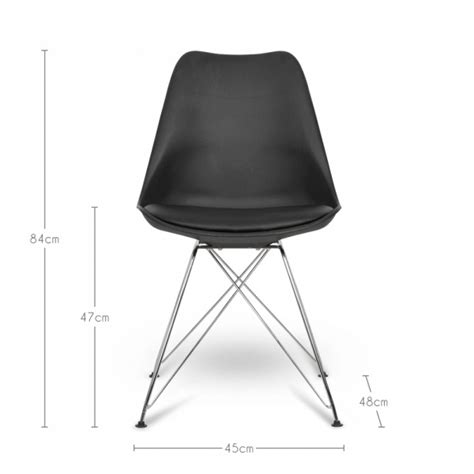 chaise eames grise eames inspired white dining chair with eiffel metal legs