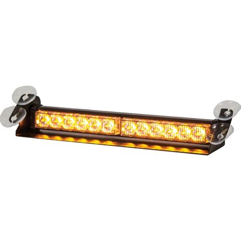 buyers products company led dashboard mount strobe light