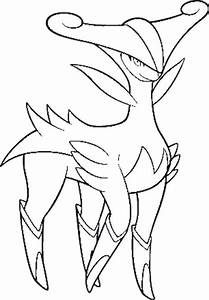 Virizion Coloring Pages Coloring Pages