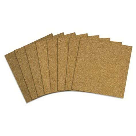 Cork Board Wall Tiles Home Depot by Quartet Cork Tiles 12 X 12 Inches Brown 80 Pack 108