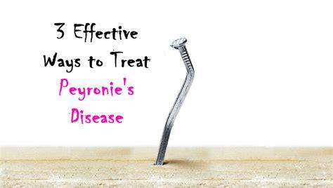 3 Effective Ways To Treat Peyronie's Disease  Advanced Urology Institute