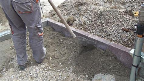granit randsteine setzen randsteine setzen anleitung um betonrandsteine zu verlegen anleitung diybook at