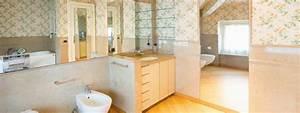 Tapete Für Badezimmer : tapeten im badezimmer wasserfest und kreativ der tapetenladen ~ Watch28wear.com Haus und Dekorationen
