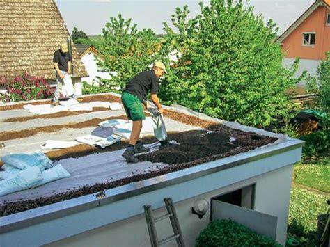 Extensive Dachbegrünung Garage Kosten by Dachbegr 252 Nung Anlage Pflege Und Kosten Mein Sch 246 Ner Garten