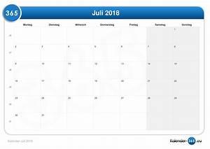 Kalender 18 19 : kalender juli 2018 ~ Jslefanu.com Haus und Dekorationen