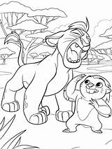 Lion Guard Coloring Pages Kion Printable National Colouring Children Cartoon Disney Sheets Getcolorings Mycoloring Drawing Colors sketch template
