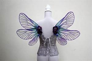 Large Enchanting Purple and Green Mer Fairy Natural ...