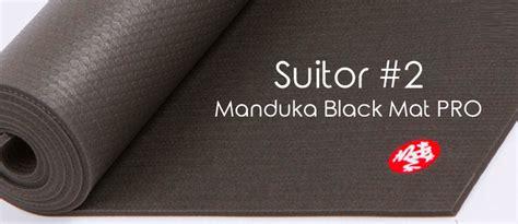 manduka black mat pro manduka mat review breaking it from beyogi