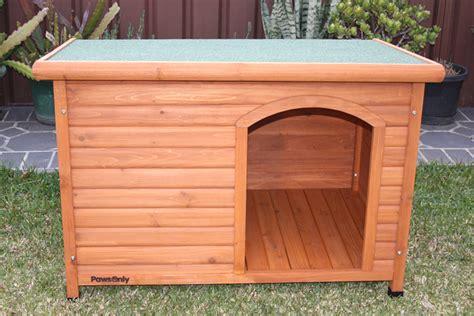 large wooden kennel comfort