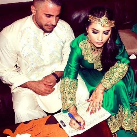 afghan wedding nekah green afghani dress afghan