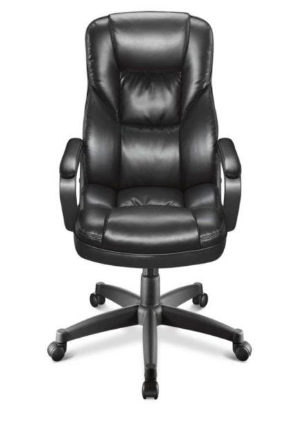 Realspace Fosner High Back Bonded Leather Chair by Realspace Fosner High Back Bonded Leather Chair Executive