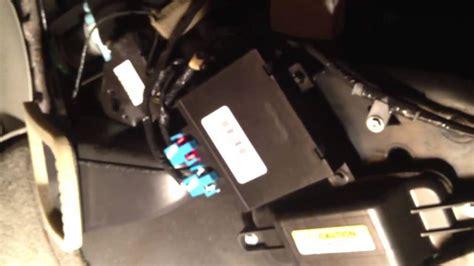 2002 chevy trailblazer mode door actuator where is my mode door actuator located on my 2002