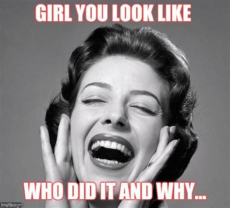 Vintage Memes - retro vintage lady laughing imgflip