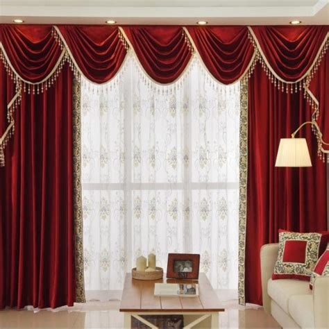 swag tails curtain