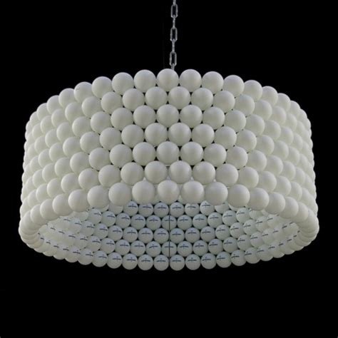 diy how to make ping pong lights