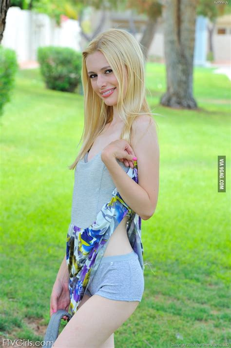 Small Hairy Blonde Teen