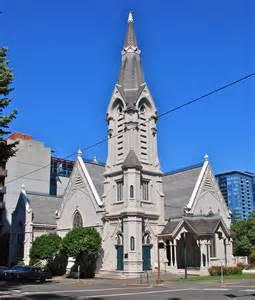 Old Church Portland Oregon