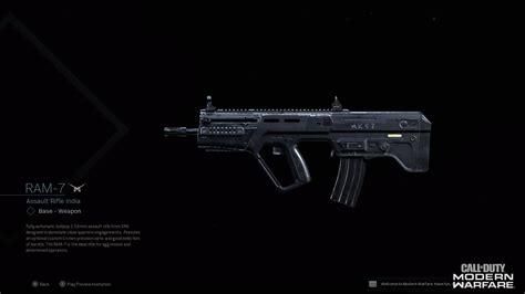ram duty call warzone warfare modern loadout attachments gamer multiplayer unlock metabomb game