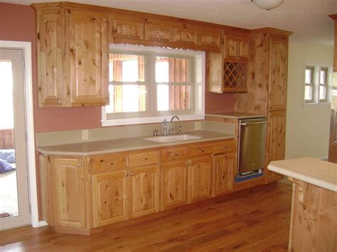 knotty alder kitchen cabinets furniture rustic holic accent kitchen with knotty wood