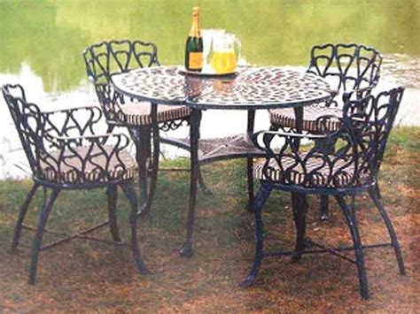 garden furniture advice wrought iron furniture