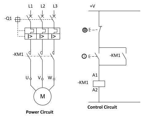Dol Power Control Circuit Refrigeration