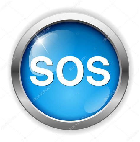 Sos icono de botón Imagen Vectorial de © sarahdesign85 ...