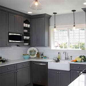 gray kitchen cabinets 862