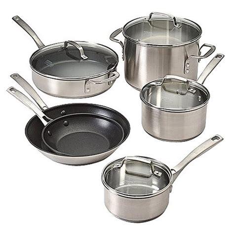 cookware calphalon essentials kitchen stainless steel pc