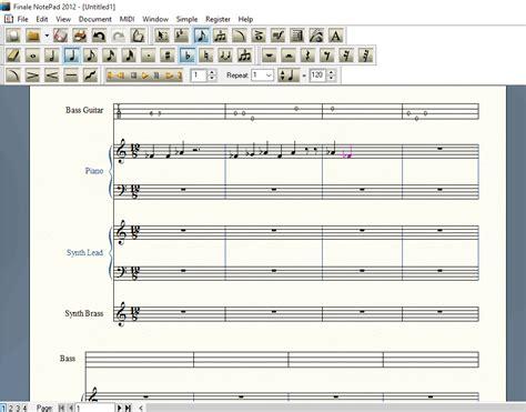 sheet music maker best free sheet music maker software for windows tricks