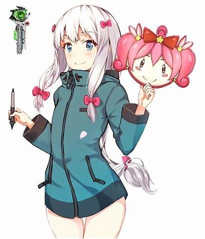 Manga Ero Sagiri Sensei Izumi Mask Render