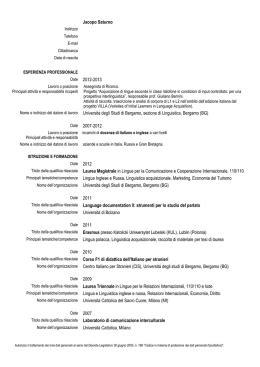 Ordine Farmacisti Pavia by Cv Riccardo Buccolieri Ordine Dei Farmacisti Taranto