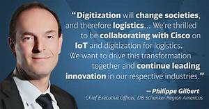 How the Interne... Db Schenker Quotes