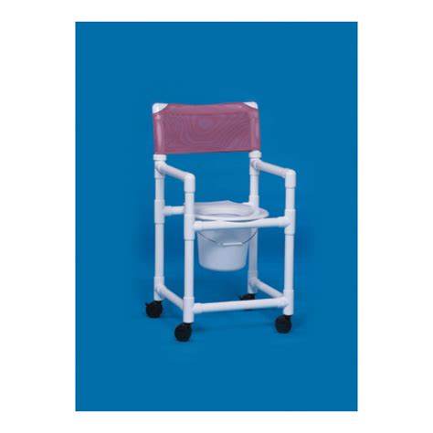 innovative products shower commode chair with arms pvc
