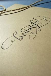 custom calligraphy. White tattoo?? The lettering is really ...