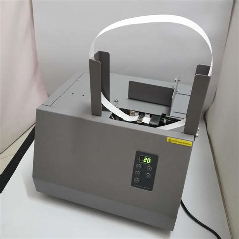 automatic banknote invoice bill banding machine paper tape money strapping
