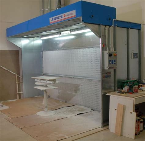 cabine verniciatura a secco cabina di verniciatura a secco mod cs tecno azzurra