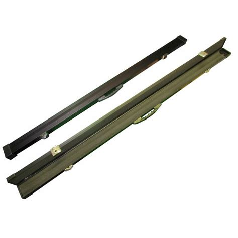 1pc Black Aluminium Cue Case - Snookercues.com