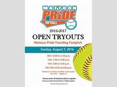 Mattoon Pride Softball Tryouts at City of Mattoon