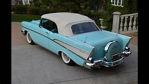 1957 Chevy Bel Air Conv  Fully Restored  Dual Quads  Gorgeous  For Sale