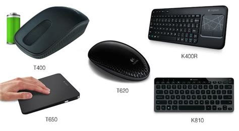 logitech wireless t620 touch mouse logitech unveils range of accessories optimised for