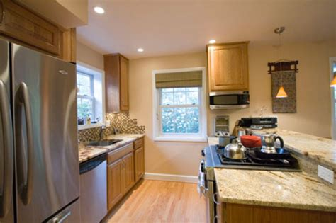 small galley kitchen ideas kitchen design i shape india for small space layout white