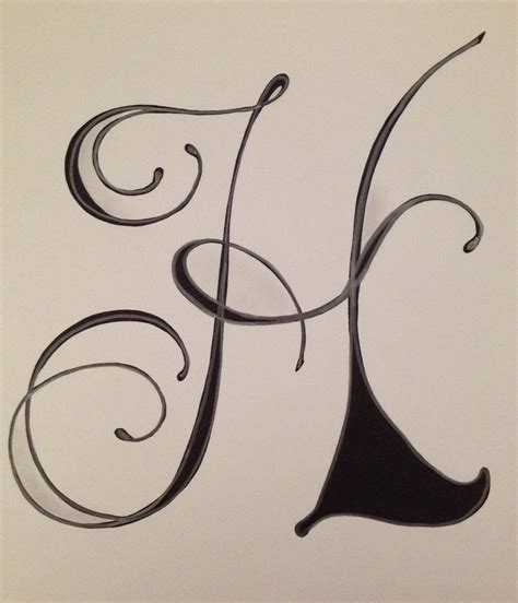letter h by vera art and doodles pinterest fonts creative lettering and craft