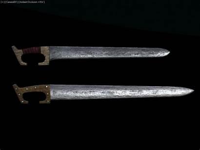 Swords Germanic Ancient Artstation Rome Jon